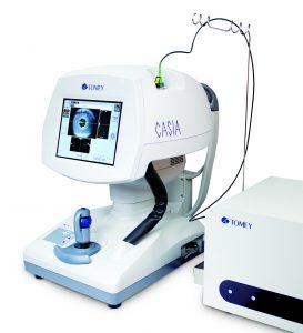 Silmän etuosan OCT - Tomey Casia - SS-1000