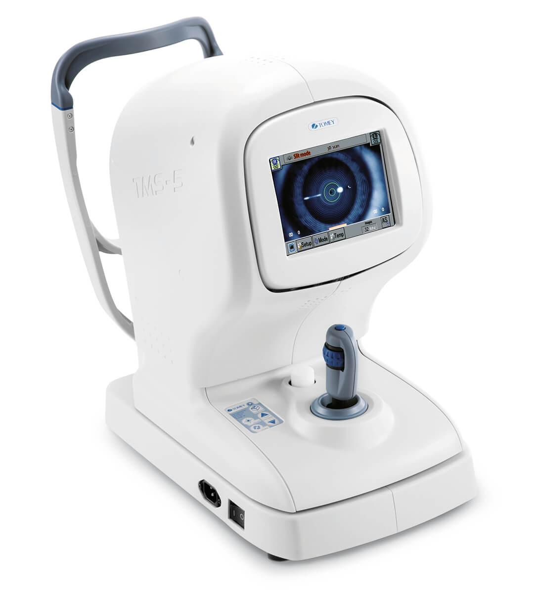 Sarveiskalvon tomografialaite - Tomey TMS-5