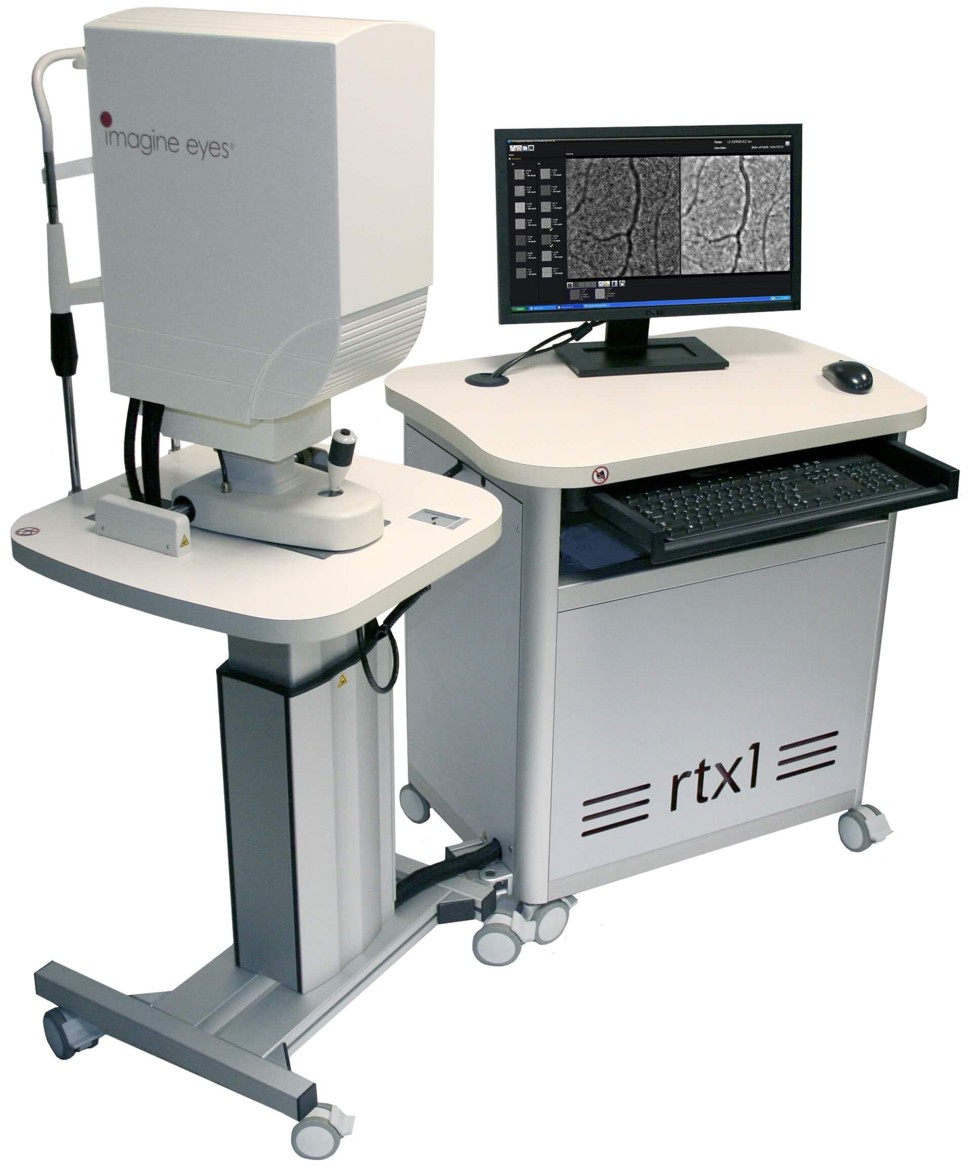 RTX1 - Adaptiivinen optiikka - silmänpohjakamera
