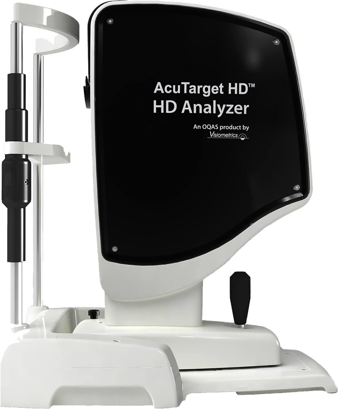 AcuTarget HD - Double pass aberrometri - Wavefront-mittaus