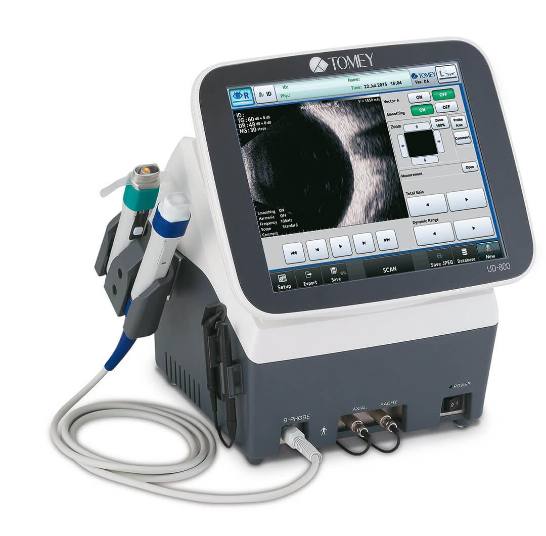 Silmän ultraäänilaite - Tomey UD-800