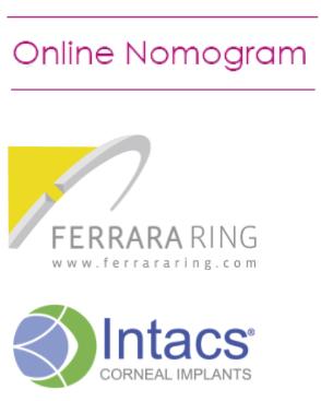 Intacs-nomogrammi