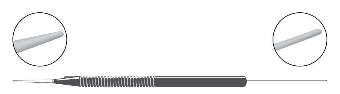 Kyynelpisteen laajennin / asetin, kertakäyttöinen