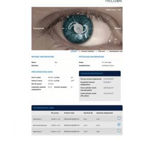 OPHTEC Precizon/ArtiCalc -laskurit