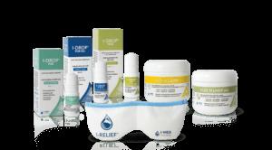 I-Med -tuotteet kuivasilmäisyyden hoitoon kotona