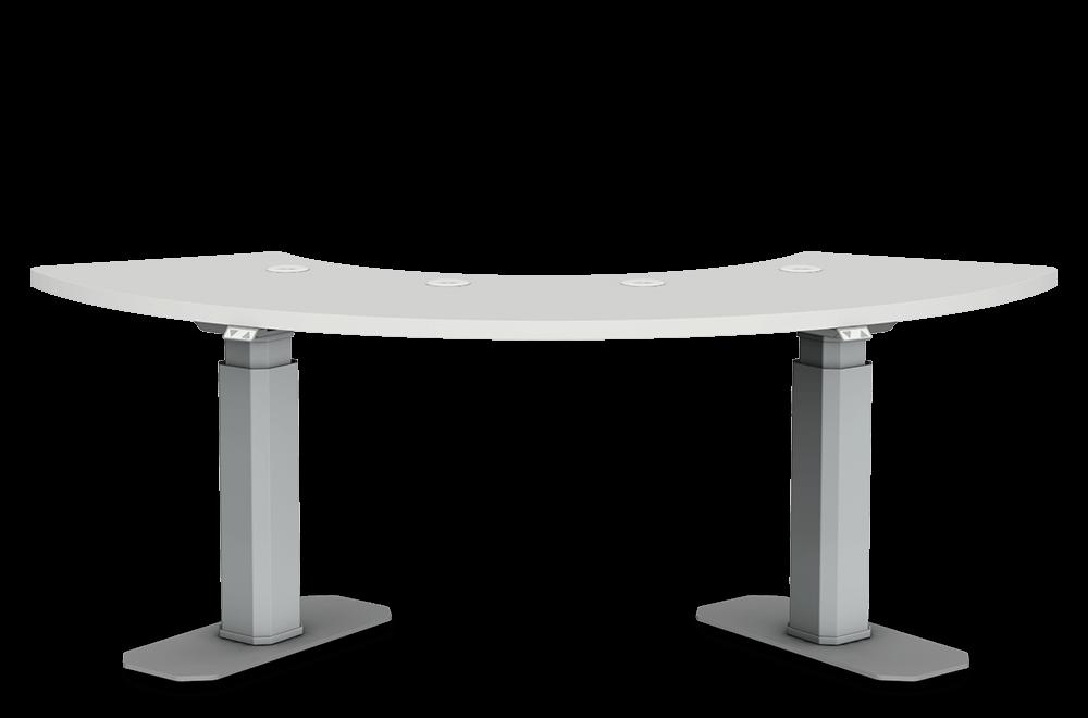 Kolmen laitteen laitepöytä